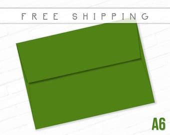 Green Envelopes Christmas Envelopes A6 Size Envelopes for Greeting Cards High Quality Envelopes Birthday Card Envelopes Packs Free Shipping
