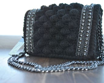 Handmade,Bags,Crochet bags,Handbags ,Luxury bag,Fashion Bag,Shoulder Bag,Made in Greece  Bags with bubbles
