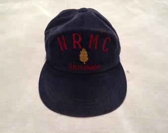 1980s NRMC Okinawa Military hat