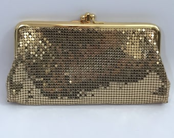 Vintage Whiting and Davis Clutch