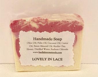 Lovely n Lace Soap,Organic Soap,Natural Soap,Facial Soap,Baby Soap,Oatmeal Soap,Olive Oil Soap,Designer Soap,Soap,Handmade Soap