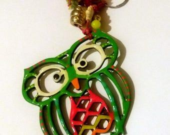 Handmade Design Keychain Owl
