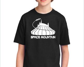 Disney Shirt / Boys Disney Shirt / Space Mountain Shirt  / Mickey Mouse Shirt / Boys Mickey Mouse Shirt / Kids Mickey Shirt / Kids Disney