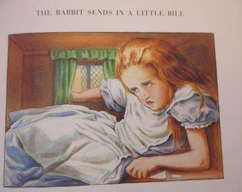 vintage book- Alice's Adventures in Wonderland - mint condition, Lewis Carroll, John Tenniel, 1990s