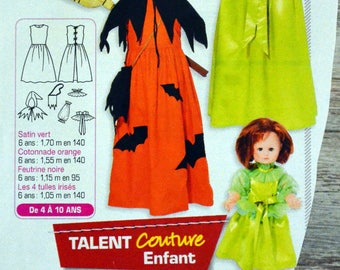 Modes & work - fairy or witches sewing pattern