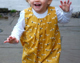 frida dress & swing top pattern - 6-12 months - 9 years