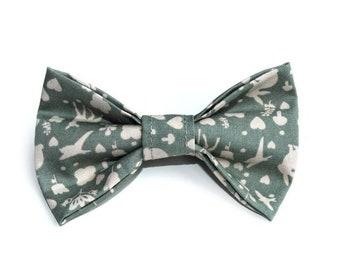 Woodland Dog Bow Tie