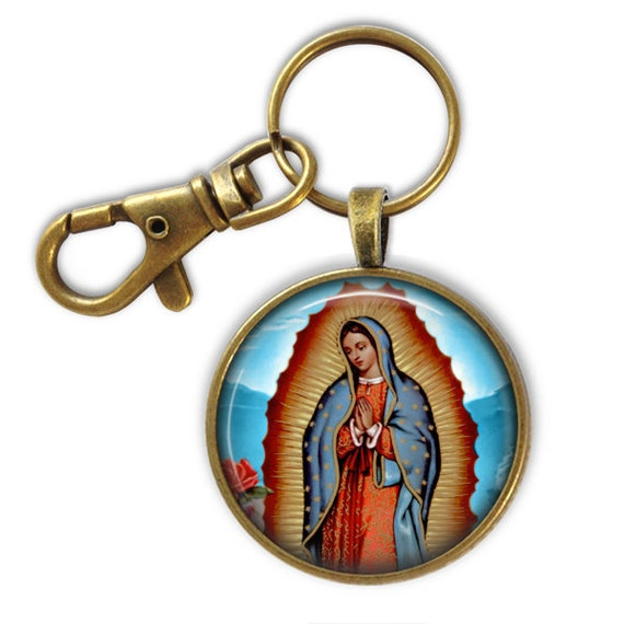 Catholic Keychain - Religious gift- Our Lady of Guadalupe