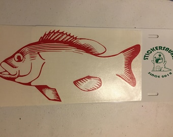 Red Grouper Decal