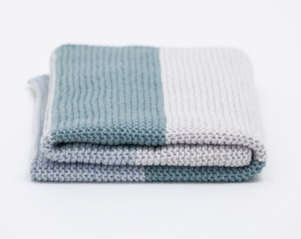 Simple Baby Blanket Knit Kit by The Woven Co