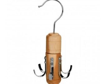 6 Hook Hanger Made From Cedar Wood.