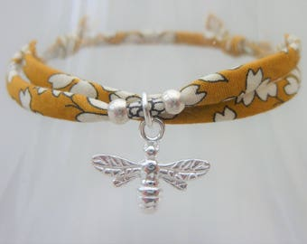 Bee bracelet, boho bracelet, save the bees, bumble bee, bumblebee, gift for her