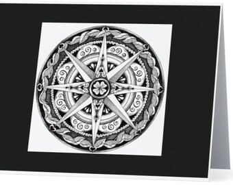 Mandala Notecards- 4 designs