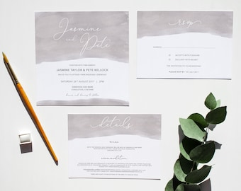 LILY // Wedding Stationery // Suite