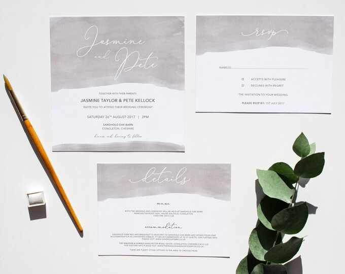 Featured listing image: LILY // Wedding Stationery // Suite
