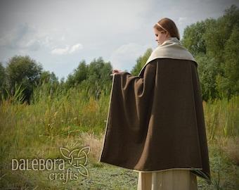 Viking slavic rectangular cloak, reenactment