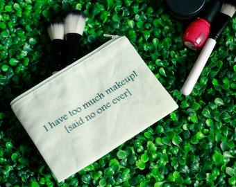 Makeup Zipper Pouch | Pencil Case, Makeup bag, Zipper Bag