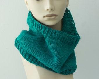 Brioche Rib Cowl Knitting Pattern, Instant Download pattern, Knit Neck Warmer  PDF Pattern