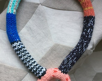cartoon necklace, static
