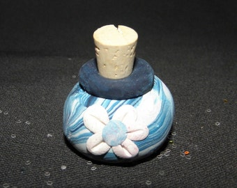 Flower Fairy Sparkles Miniature Jar of Glitter for Imaginative Play FLOWER design