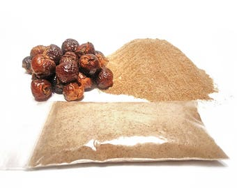 Soap Nuts, Soapnuts Powder - FRESH - PURE - grinded in US - Natural Hair Care &  Multitude of Other  Uses - Great Deal! - Free Shipping