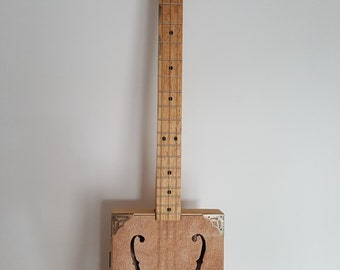 Cigar box #65 resonator guitar