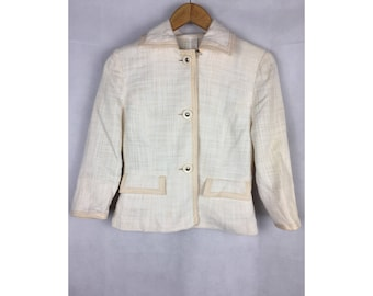 COURREGES Ladies Coats Small Size With Small Pockets