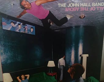 "John Hall Band ""All Of The Above"" record vinyl"