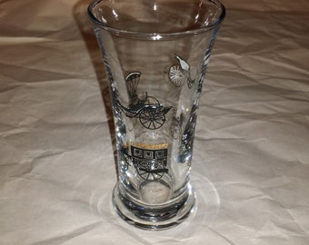 Libbey Antique Cars Cordial Glass
