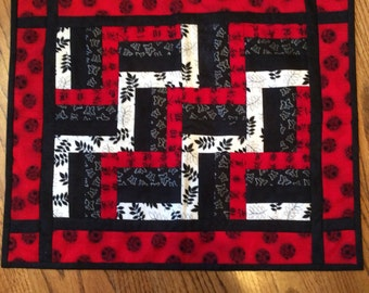 Oriental Quilted Table Runner