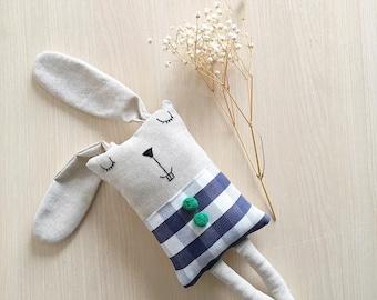 Plush Rabbit//cloth doll//rabbit//Bunny toy//Kids Stuff