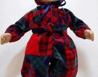 15 inch Velour snowsuit