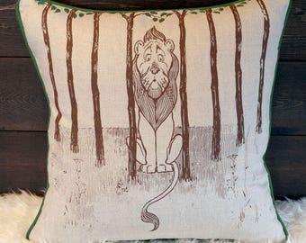 Cowardly Lion - Pillow