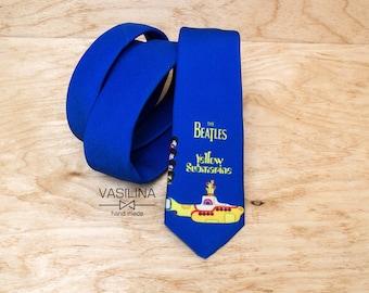 Yellow Submarine, The Beatles Necktie, Neck tie, Beatle tie
