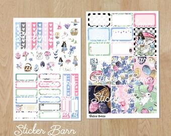 Easter Mini Planner Sticker Kit for Vertical Planners
