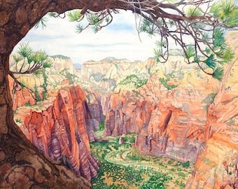 Zion's Canyon
