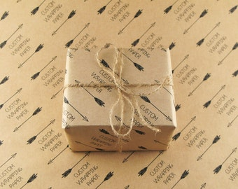 Kraft Wrapping Paper - Custom - A3 (420 x 297mm | 16.5 x 11.6 inches)