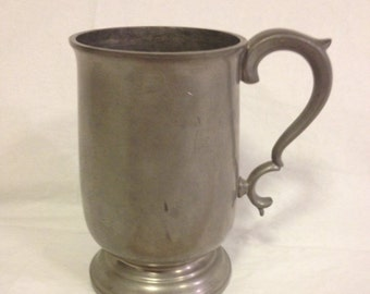 Pewter Mug Manor Period Pewter Travis, Wilson and Co Sheffield England 1926-1939