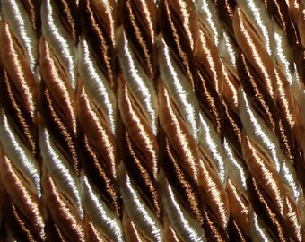 Sale-thick twisted satin cord-4mm-per metre