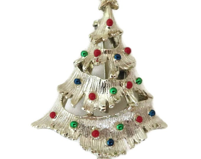 Gerry's Christmas Brooch - Vintage Xmas Tree Brooch