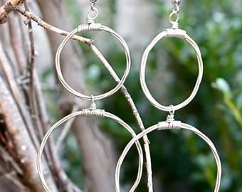 Guitar String Earrings - The Janie