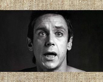 Iggy Pop photograph, Iggy Pop black and white photo print, Iggy Pop vintage photograph