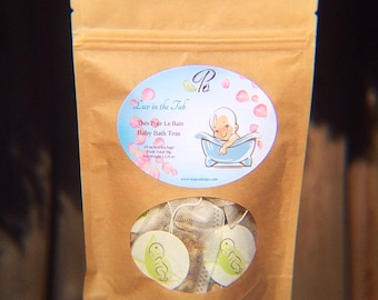 Luv In the Tub - Baby Bath Teas