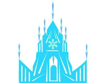 Ice Castle instant download cut file for cutting machines - SVG DXF EPS ps Studio3 Studio