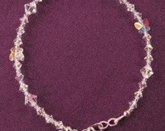 Blissful Butterfly Anklet