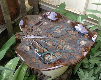 Bird Bath Outdoor Garden Sculpture