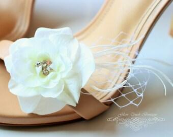 Bridal Shoe Clips , Rhinestone shoe clips,Shoe Clips,wedding shoe clips, feather shoe clipsvintage wedding