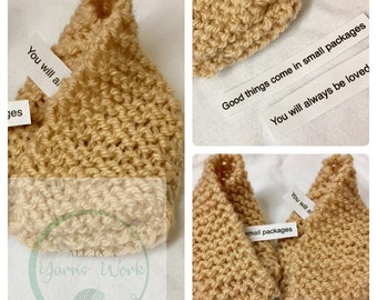 Baby fortune cookie newborn knitted baby shoes