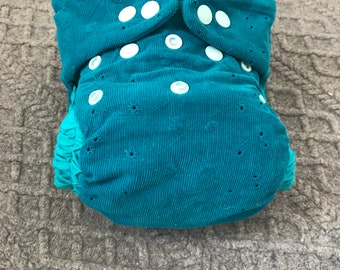 EXCLUSIVE! Littleberry nappy cover Mr. Tirquise liquorice
