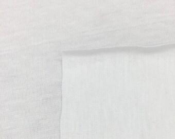100% Cotton Lightweight Sheer Jersey